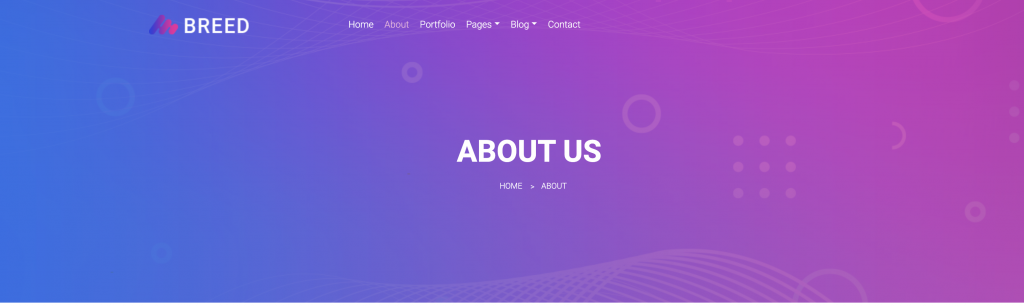 template html breed2 title page by react components