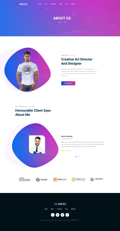 template html breed2 to react