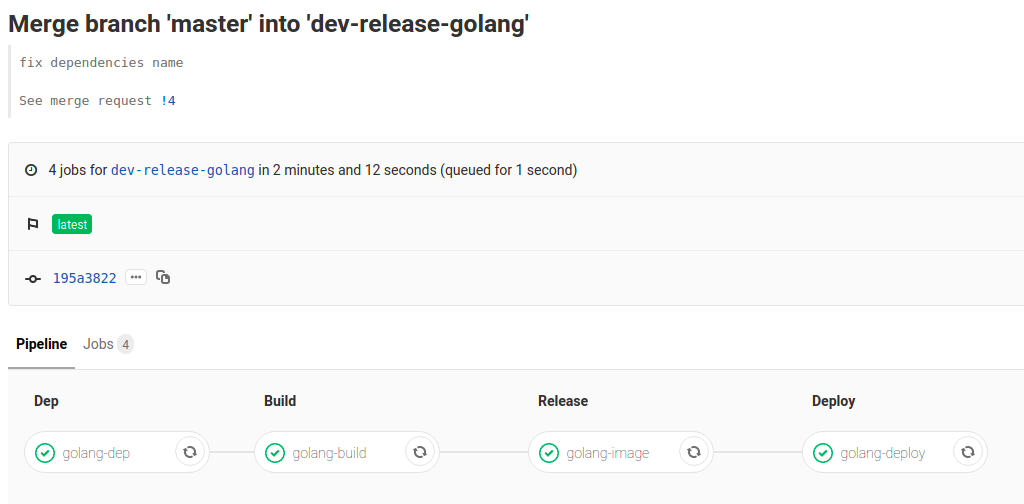 Master to dev-release-golang
