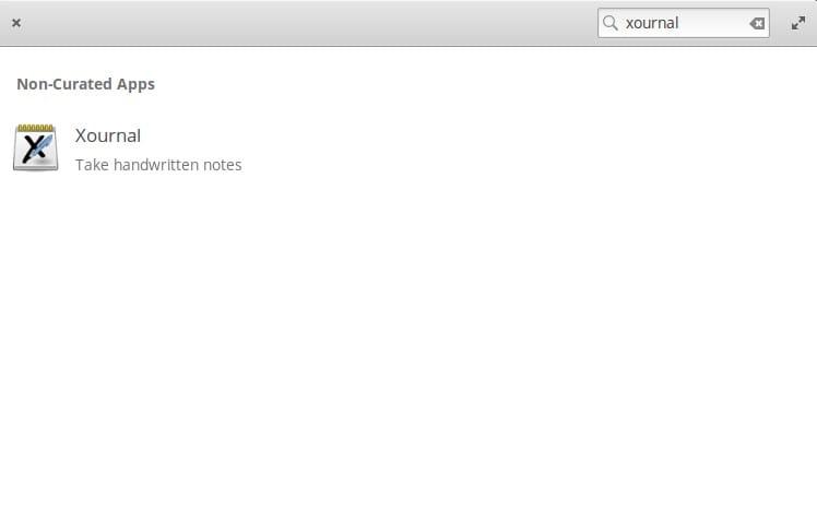 xournal ใน app center