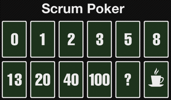 Scrum poker