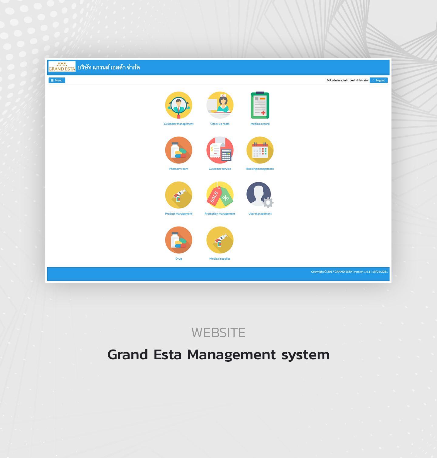 Grand Esta Management system